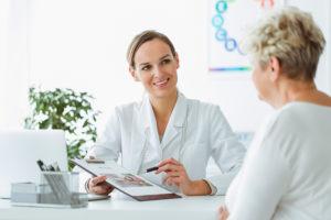 Studien Übergewicht Patientengespräch