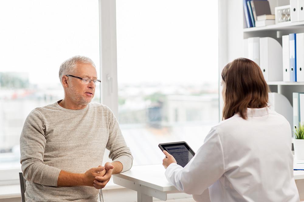 Studien-Herzrkrankungen-Patientengespräch